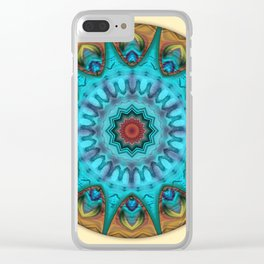 Mandalas from the Heart of Surrender 6 Clear iPhone Case