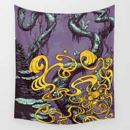 Epiphycadia III: Violet Wall Tapestry