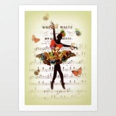 Butterfly Waltz Art Print