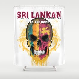 To The Core Collection: Sri Lanka Shower Curtain