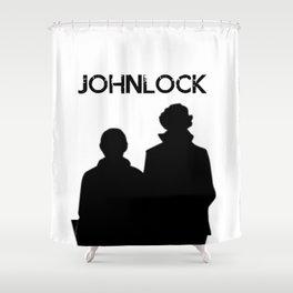 Johnlock Shower Curtain