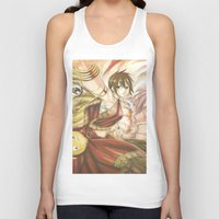 fairy tail Tank Tops featuring fairy tail eclaire by 6alba
