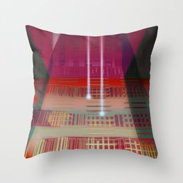 Atlante / CIRCUITS GLEAM Throw Pillow