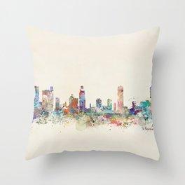 st petersburg florida Throw Pillow