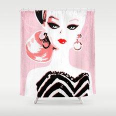 Classic Barbie Shower Curtain