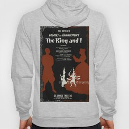 musical poster The King and I Hoody