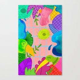 Pajarera Canvas Print