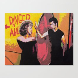 Danny and Sandy Canvas Print