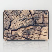 wood iPad Cases featuring Wood by Crazy Thoom