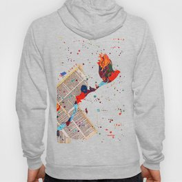 Letter Trail by Nadia J Art Hoody