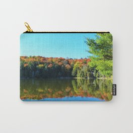 Fall Colours on a Still Lake Carry-All Pouch