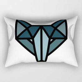 By the moon Rectangular Pillow