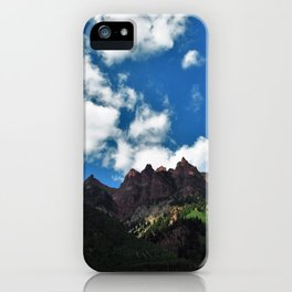 Pointing to the Sky iPhone Case