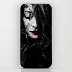 dark lady iPhone & iPod Skin