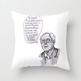 Feelin the Bern Throw Pillow