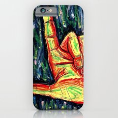 Pointing hand iPhone 6s Slim Case