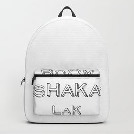 BoomShakaLak Backpack