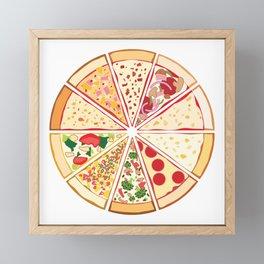 Feast of St. Pizza: Lebanon Edition Framed Mini Art Print