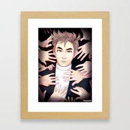 King of Monsters Framed Art Print