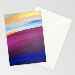 Sunset Lake Stationery Cards