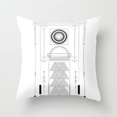 cirquit blank Throw Pillow