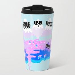 Bad Ass Mountains - Happy Travel Mug