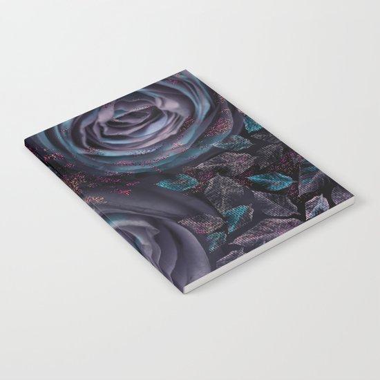 Purple roses. Notebook