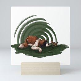 got a good feline about us Mini Art Print