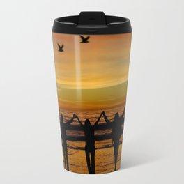 Venice Beach foursome Travel Mug