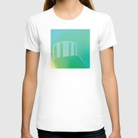 bed T-shirts featuring bed by XiXi