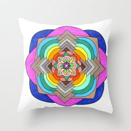 skyflower 1 Throw Pillow