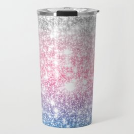 Galaxy Sparkle Stars Cotton Candy Travel Mug