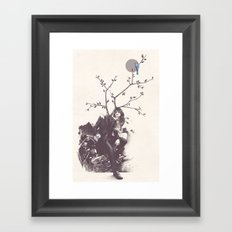 Bluejay Framed Art Print