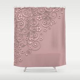 With a flourish B3 Shower Curtain