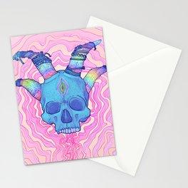 Mana Skull 2 Stationery Cards