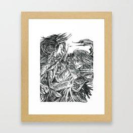 Inktober 2018: Breakable Framed Art Print