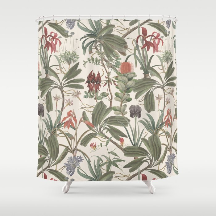 Botanical Stravaganza Shower Curtain