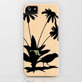 Maryland - State Papercut Print iPhone Case