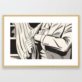 NOIR no.01 (REACH) Framed Art Print