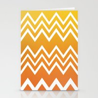 tequila Stationery Cards featuring Tequila Sunrise by Color and Form