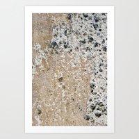 concrete Art Prints featuring Concrete by Herzensdinge