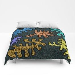 Doodle Monsters Comforters
