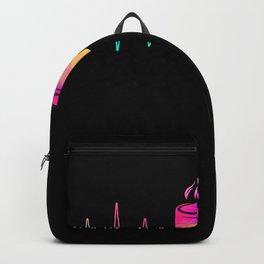Coffee Heartbeat Backpack