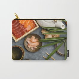 Asian food background Carry-All Pouch