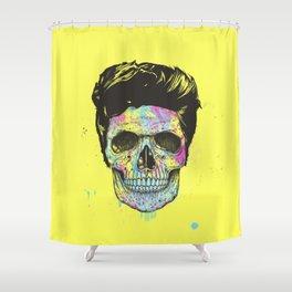 Color your death Shower Curtain
