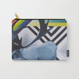 Geometric Caribou Carry-All Pouch