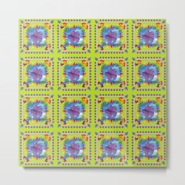 PATTERN - SUMMER FESTIVAL Metal Print