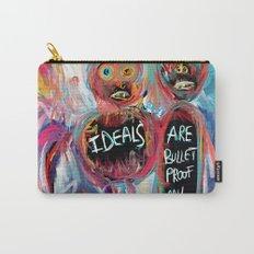 Ideals are bulletproof my dear Street Art Graffiti Carry-All Pouch