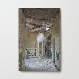 Forgotten Corridors Metal Print