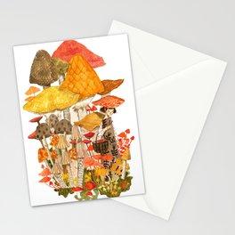 The Mushroom Gatherers  Stationery Cards